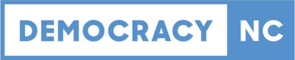 Logo for Democracy NC
